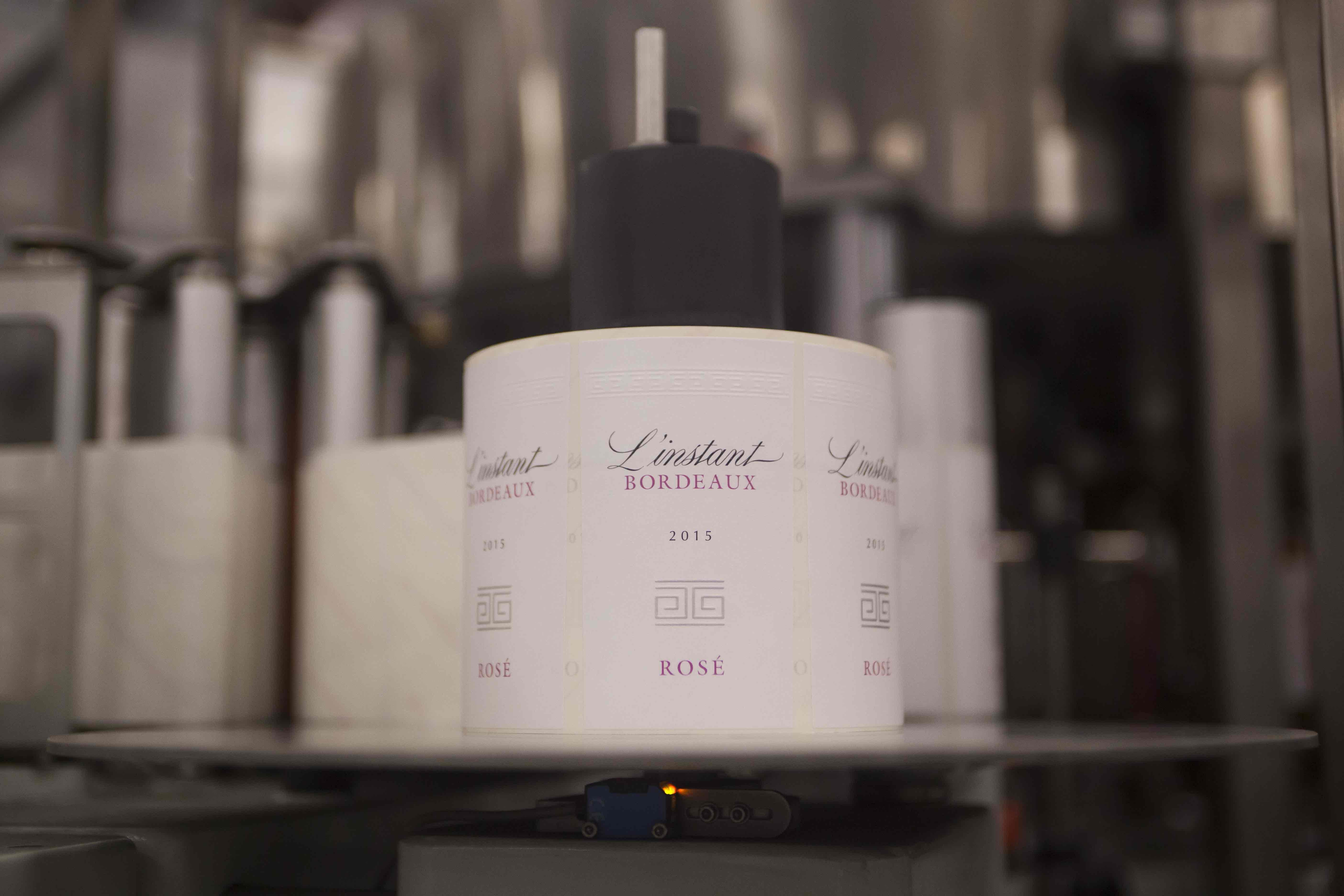 Création of a daring rosé: L'Instant Bordeaux Rosé