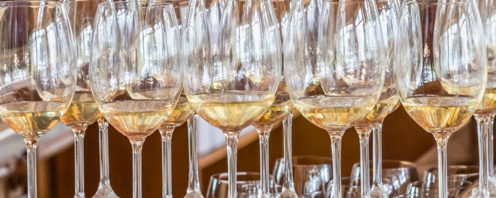 verres de vins blanc sec