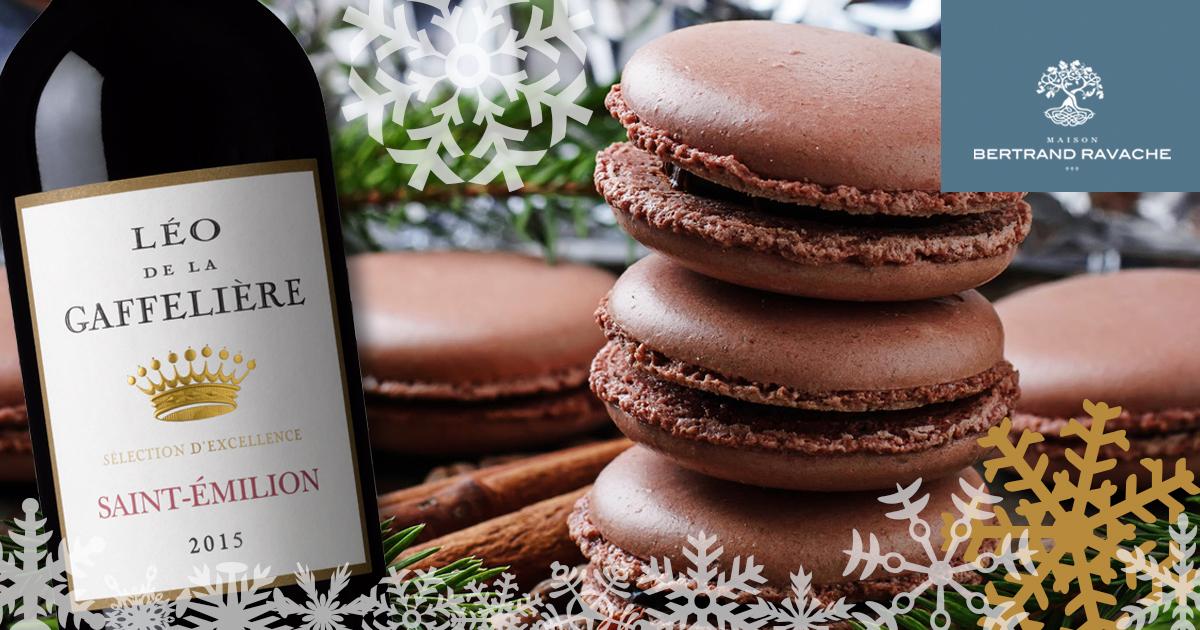 La recette des Macarons au chocolat – Fève Tonka